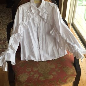 Drew 96% Cotton 4% Spandex Shirt New and Gorgeous!